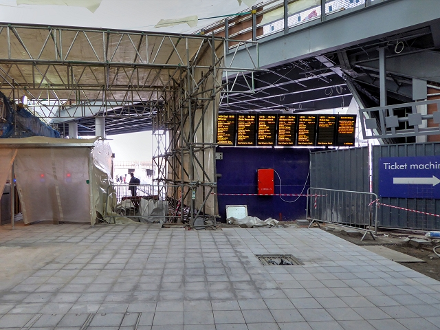 Manchester Victoria Station Redevelopment (January 2015)