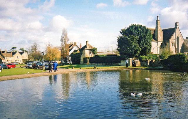 Pond at Biddestone