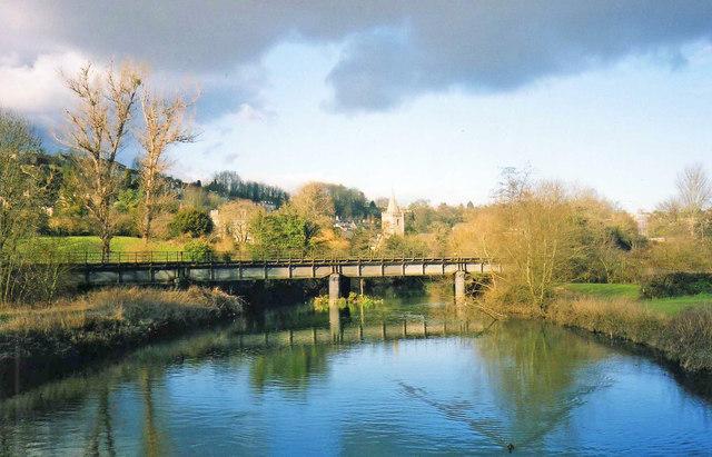 Railway Bridge at Bradford-On-Avon