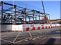 SO9198 : Worcester Street Construction by Gordon Griffiths
