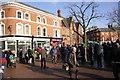 SJ6552 : Nantwich Town Square by Jeff Buck