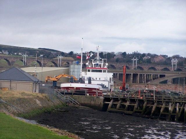 Berwick upon Tweed harbour