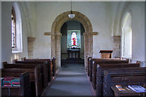 TF1898 : Interior, All Saints' church, Croxby by J.Hannan-Briggs
