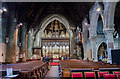 TQ8109 : Interior, Holy Trinity church, Hastings by Julian P Guffogg