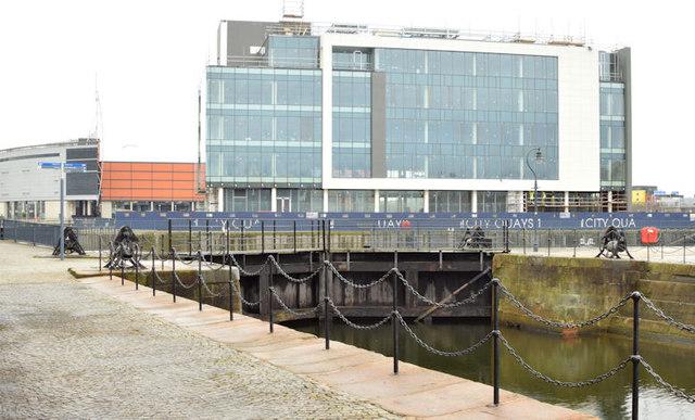 CQ1, City Quays site, Belfast - January 2015(3)