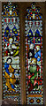 TQ5045 : Stained glass window, St Mary's church, Chiddingstone  by Julian P Guffogg