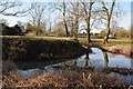 SO8742 : Moat at Earl's Croome by Philip Halling