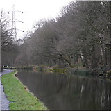 SE2436 : Leeds and Liverpool Canal, approaching Kirkstall Forge Locks by Rich Tea
