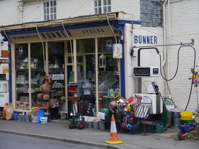 Bunners Ironmongers, Arthur Street, Montgomery