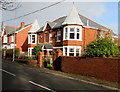 ST2998 : Twin towers, Greenhill Road, Sebastopol, Pontypool by Jaggery