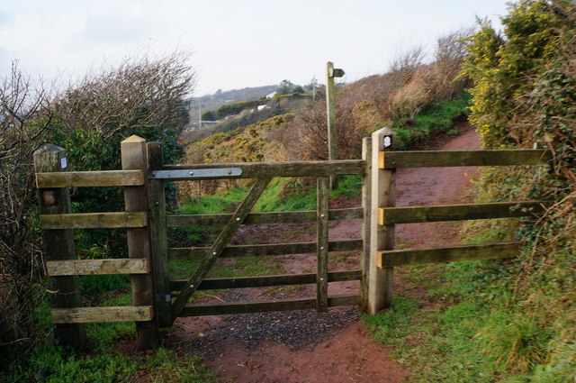 Pembrokeshire Coast Path at Freshwater East Top Path