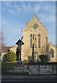 SK5580 : St. Luke's Church and the war memorial by Alan Murray-Rust