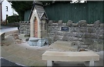 SJ3454 : Ancient Drinking Fountain by Geoff Evans