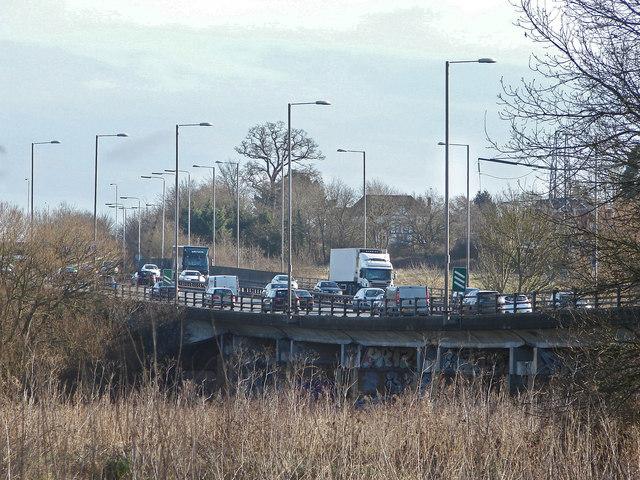 The A40 near Denham