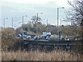 TQ0585 : The A40 near Denham by Alan Hunt