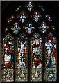 SK9324 : East window, St John the Baptist church, Colsterworth by J.Hannan-Briggs