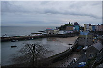 SN1300 : Tenby Harbour, Tenby, Pembrokeshire by Ian S