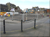 TR3241 : The site of Centurion House from the pavement beside Townwall Street by John Baker