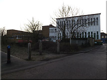 TM3863 : Royal Mail Sorting Office, Saxmundham by Adrian Cable