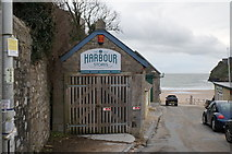 SN1300 : The Old Harbour Stores, Tenby by Ian S