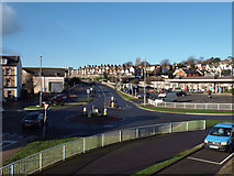 SX9473 : Junction of Brook Street, Higher Brook Street and Myrtle Hill, Teignmouth by Robin Stott