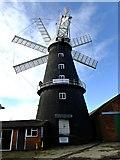 TF1443 : Heckington mill from the rear by Richard Hoare