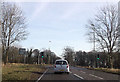 SK4977 : A618 junction from A619 by John Firth