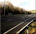 ST2999 : North along the A4042, Pontypool by Jaggery
