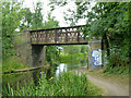 TQ0079 : Bridge 8, Slough Arm, Grand Union Canal by Robin Webster