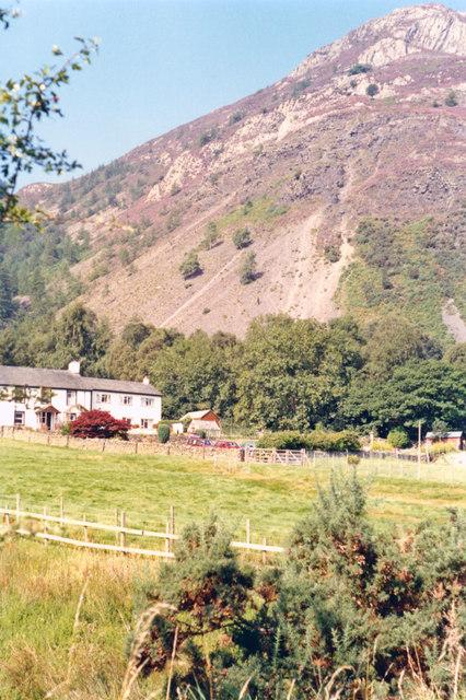 Slopes of Skiddaw massif from Thornthwaite