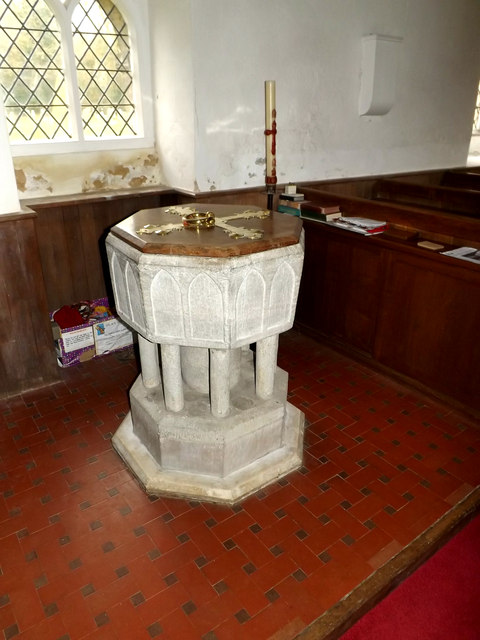 St.Lawrence Church Font