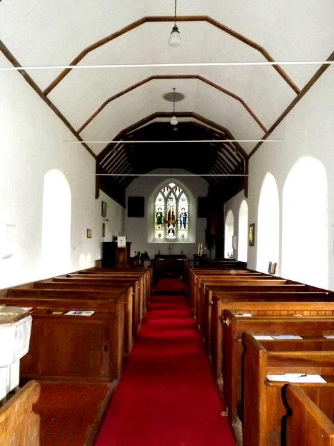 Inside St.Lawrence Church