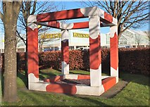 NT1772 : Concrete Jungle at the Gyle Shopping Centre by Jim Barton
