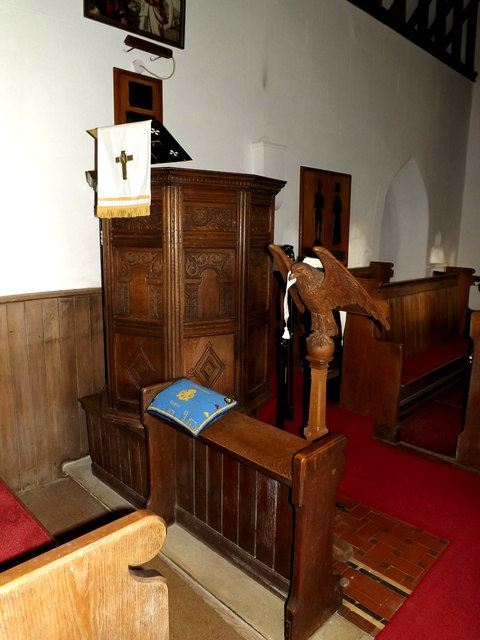 St.Lawrence Church Pulpit