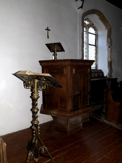 Pulpit & Lectern of St.Peter's Church