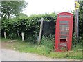 SO6192 : Telephone box, Netchwood by Richard Webb