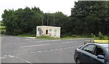 J0225 : Water montoring station at the Newtown Road/Sturgan Brae Cross Roads by Eric Jones