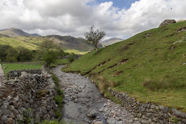 Stream near Road to Hardknott Pass, Cumbria