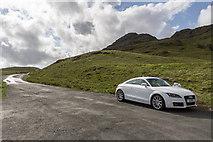NY2201 : Hardknott Pass, Cumbria by Christine Matthews