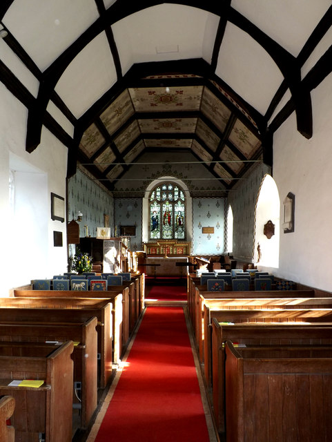 Inside of St.Mary the Virgin Church, Friston