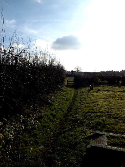 Footpath to Grove Road