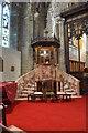 TQ8109 : Pulpit, Holy Trinity church, Hastings by Julian P Guffogg