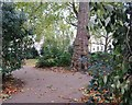 TQ2981 : Bedford Square Gardens by N Chadwick
