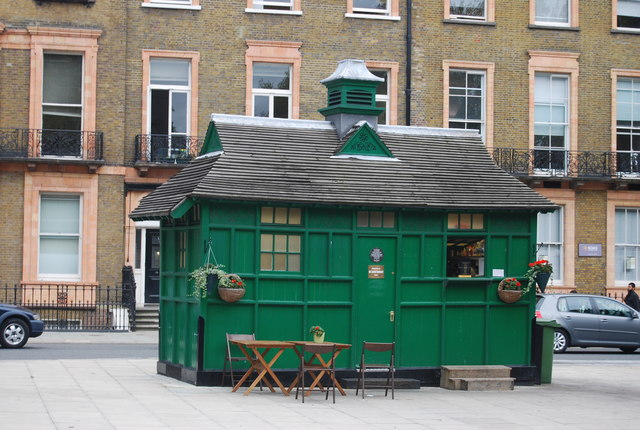 Cabmans Shelter, Russell Square