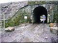 SE0723 : Railway bridge, Hollas Lane by Humphrey Bolton