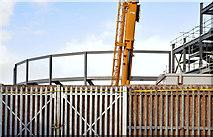 J3272 : The new South Stand, Windsor Park, Belfast - January 2015(2) by Albert Bridge