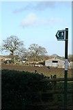 SJ3554 : Public footpath by Geoff Evans