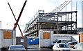 J3272 : The new Railway Stand, Windsor Park, Belfast - January 2015(3) by Albert Bridge