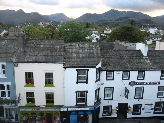 Keswick from the Queens Hotel