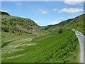 SN8454 : Cwm Irfon north-west of Abergwesyn, Powys by Roger  Kidd